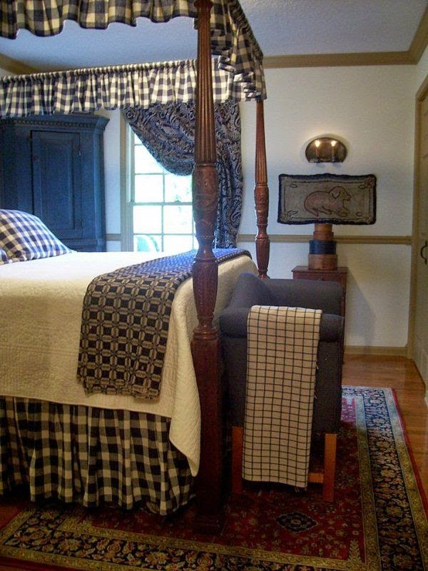 Eye For Design Decorating ColonialPrimitive Bedrooms