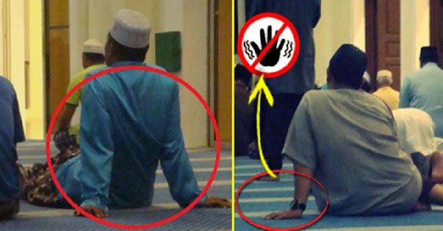 Awas !! Allah Sangat Membenci Posisi Duduk Seperti Ini!! Inilah Alasannya