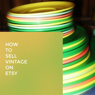 how to sell vintage on Etsy