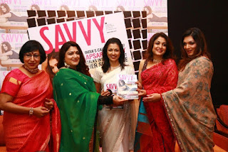 Kushboo Stills in Salwar Kameez at Savvy Magazine Launch ~ Celebs Next