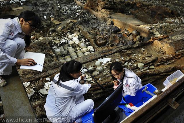 Ancient shipwreck unlocks secrets of Maritime Silk Road