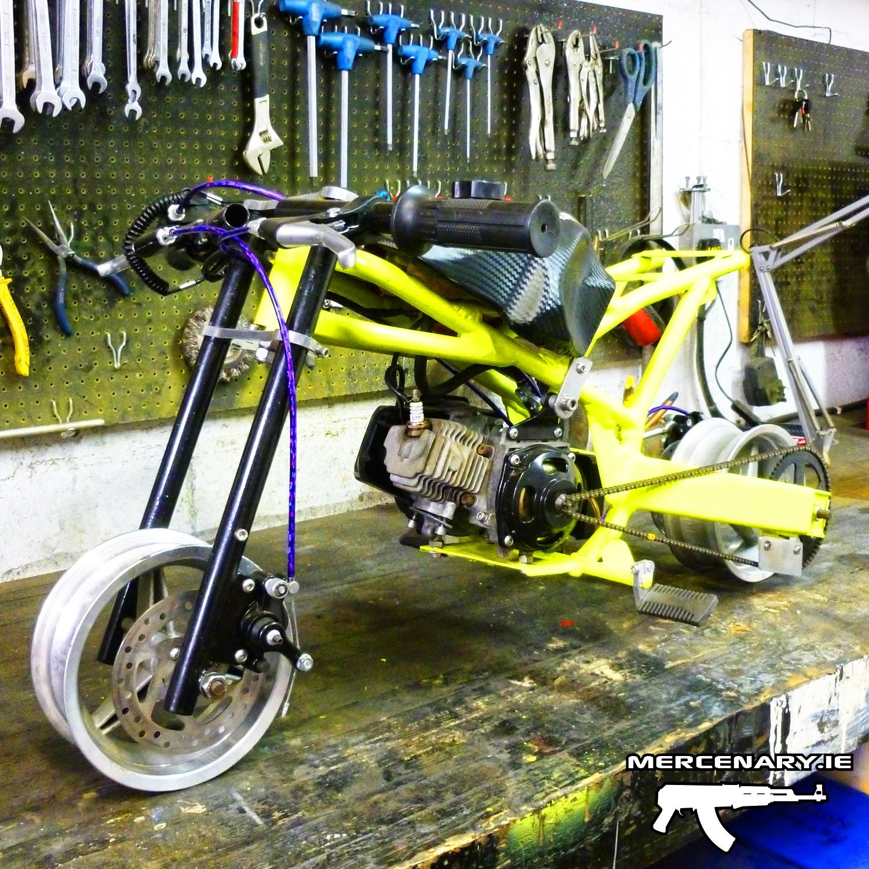 Mercenary Garage Mini Moto