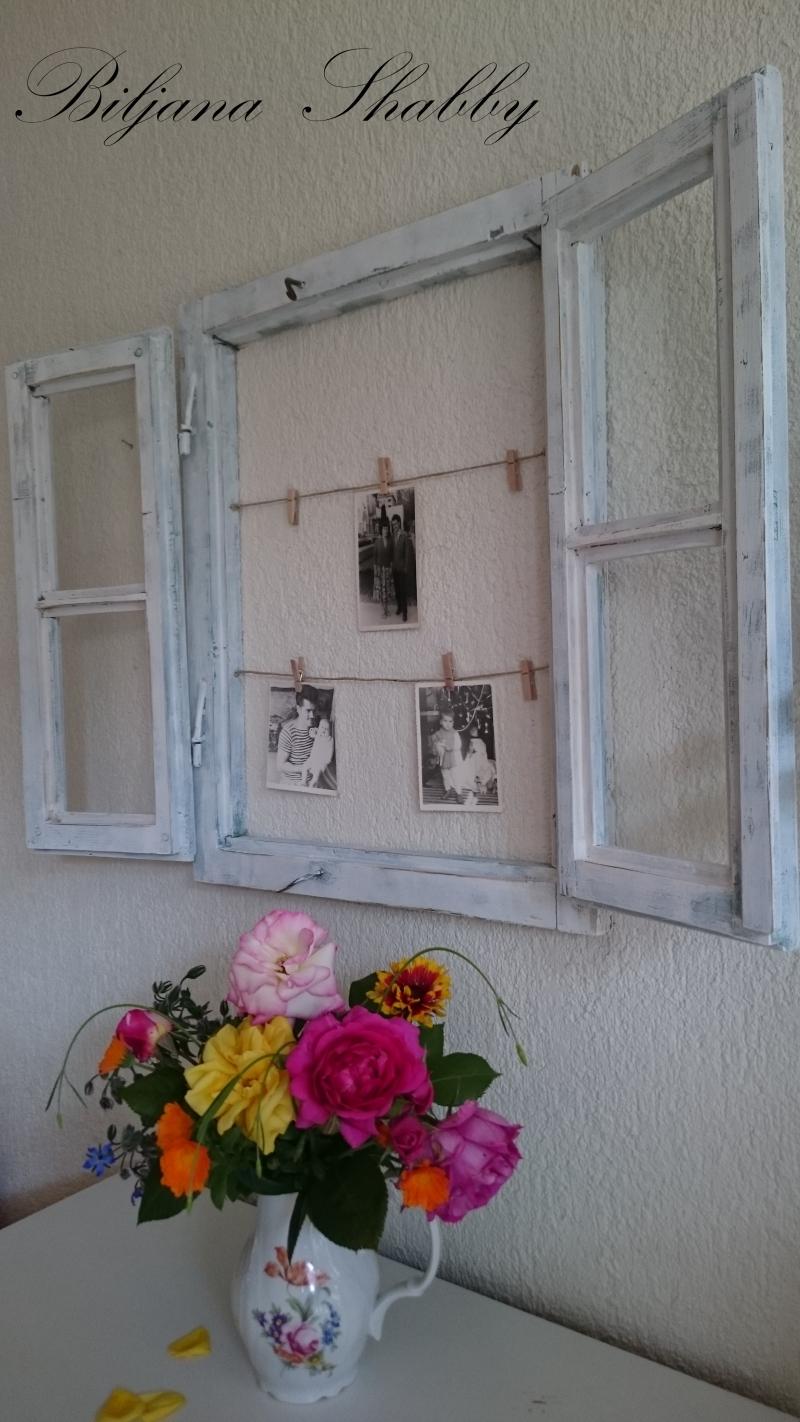 Biljana Shabby: Dom i dizajn: Stari drveni prozor kao dekoracija u interijeru