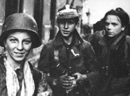 Polish Scouts Armia Krajowa Warsaw Uprising 1944