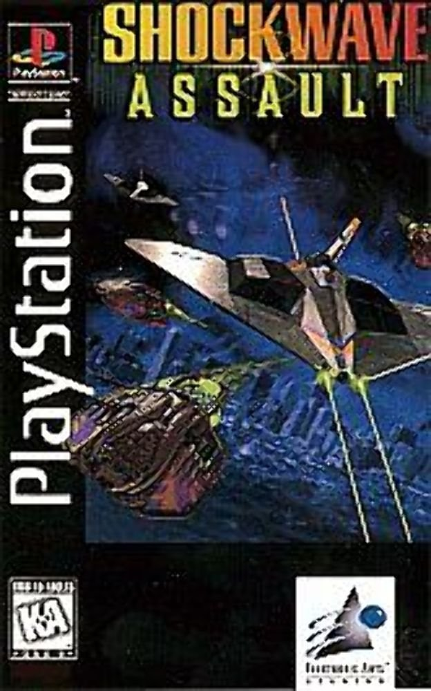 Shockwave Assault  - PS1 - ISOs Download