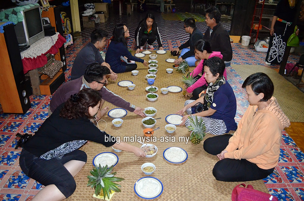Kelabit Longhouse Dinner