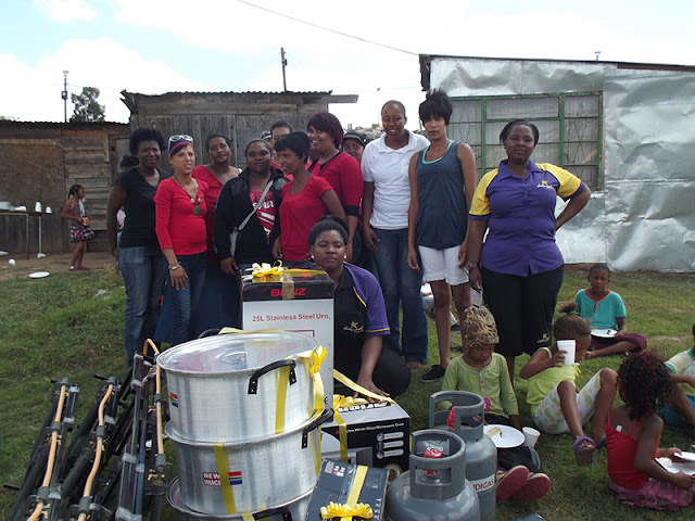 Hollywoodbets Uitenhage donated much needed kitchen goods and equipment to YMCA - Eastern Cape