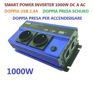 ANDOWL SMART POWER INVERTER 1000W