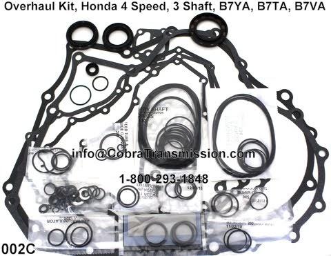 Cobra Transmission Parts 1-800-293-1848: Honda B7TA, B7VA