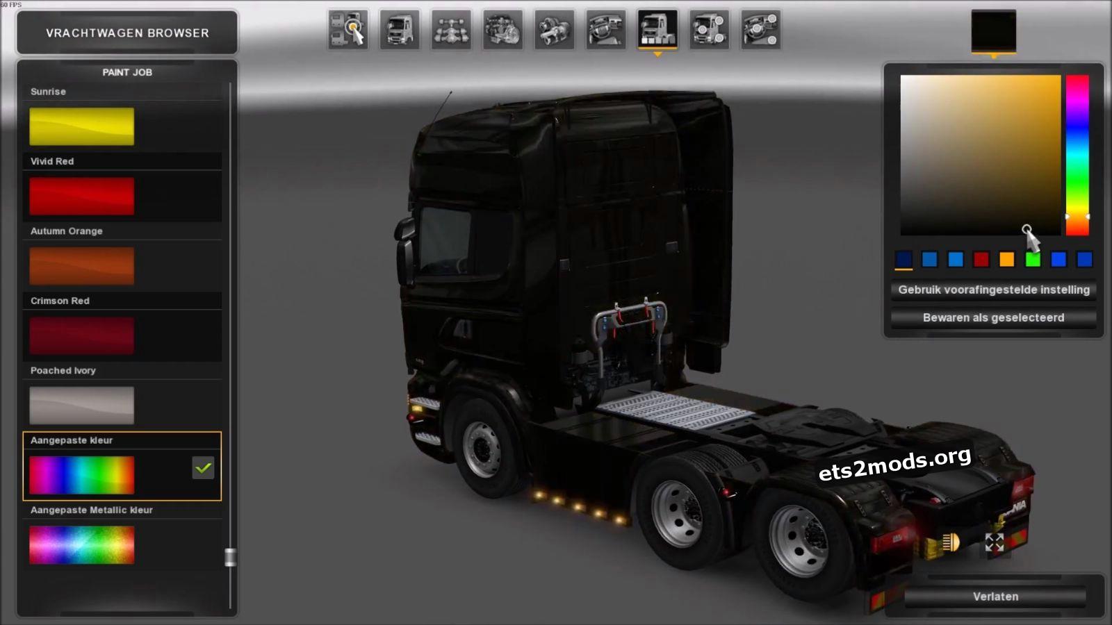 Custom Sideskirts for Scania RJL