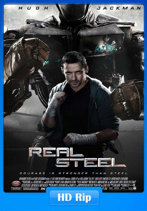 Real Steel 2011 720p BDRip Tamil Hindi Eng x264 | 480p 300MB | 100MB HEVC