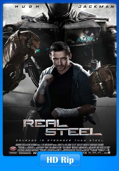 Real Steel 2011 720p BDRip Tamil Hindi Eng x264   480p 300MB   100MB HEVC
