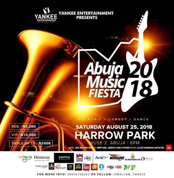 Mallam Yankee announces date of Abuja Music Fiesta