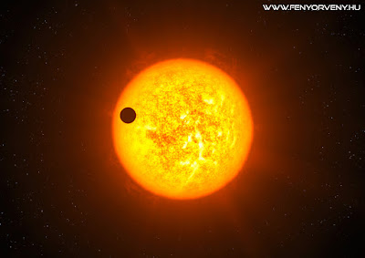 KELT-9b: A csillagoknál is forróbb exobolygót fedeztek fel