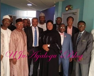 Yusuf Buhari: Aisha Opens Up On Son's Condition, Thanks Medical Team Who Save Him ...See Photo of Doctors Who Saved The President's Son