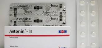 سعر ودواعى إستعمال أستونين – هـ Astonin – H أقراص لعلاج ضغط الدم المنخفض