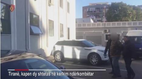 Police arresting Ciro Dentice