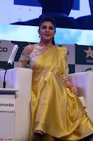 Gorgeous Jacqueline Fernandez  in yellow saree 28.JPG