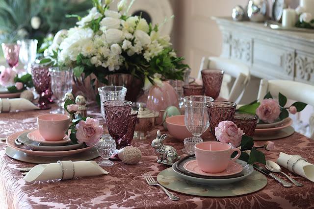 Stół Wielkanocny Pink Lady