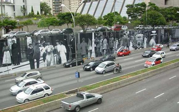 pintura 3D de rua