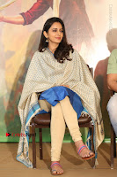 Actress Rakul Preet Singh Stills in Blue Salwar Kameez at Rarandi Veduka Chudam Press Meet  0035.JPG