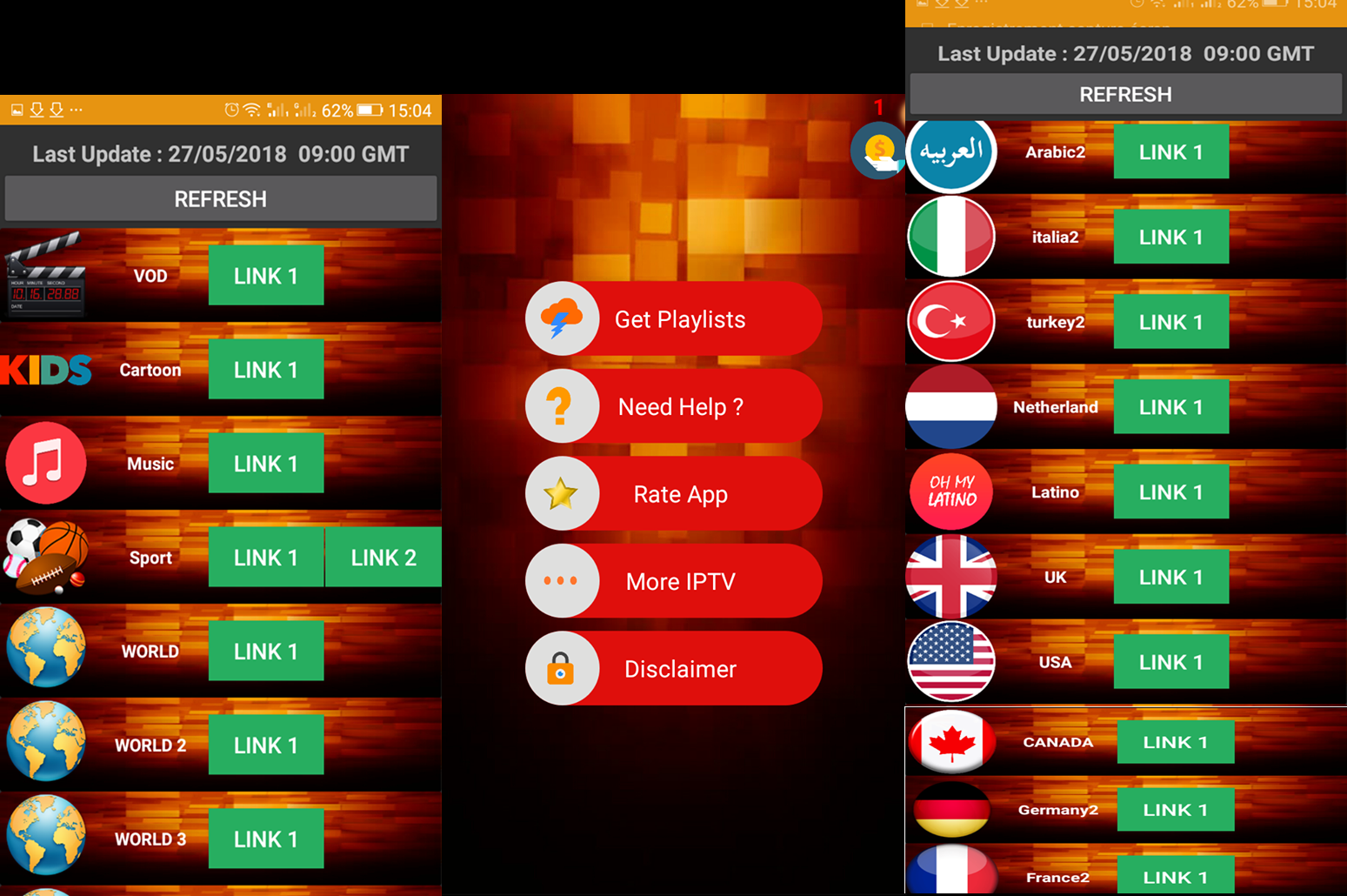 DAILY PLAYLIST APK : GET IPTV EVERY DAY FOR 24H - About Sat&Tech