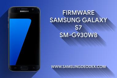 FIRMWARE SAMSUNG G930W8