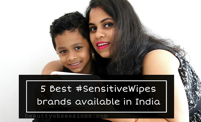 then baby wipes come very handy for you 5 Best #SensitiveWipes Brand Available in India