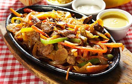 Meksika yemeği Fajita