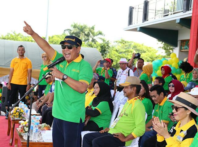 Gubernur Kalsel Buka FORNAS Ke IV