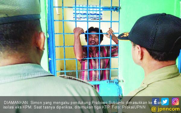 Simon: Bunuh Saya, Tembak Saya, Saya Pendukung Prabowo