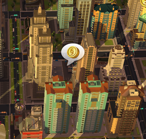 Make Money in SimCity BuildIt by Clicking on Golden Speech Bubbles