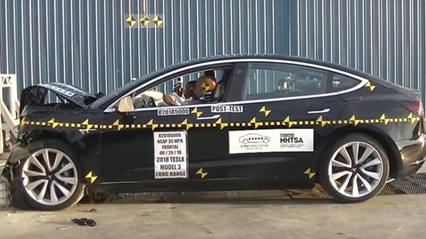 Tesla Model 3 Çarpışma Testleri