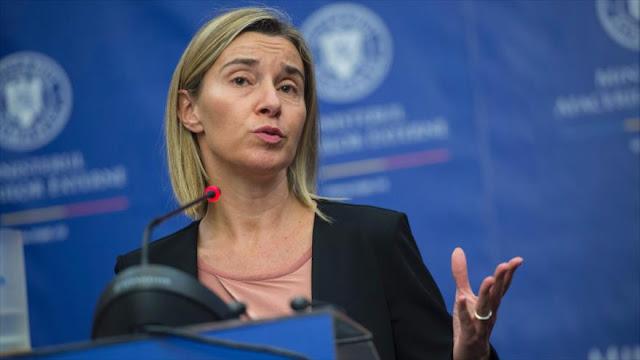 UE: Trump no podrá dañar aplicación de acuerdo nuclear con Irán