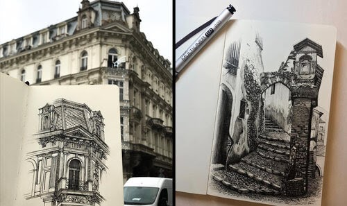 00-Mariusz-Uryszek-Ink-Architectural-Urban-Sketches-www-designstack-co