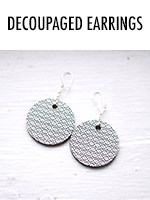 Make a pair of earrings in 5-minutes flat!