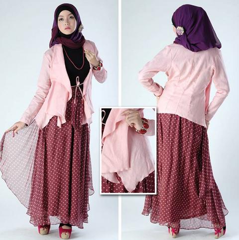 model baju rok blus muslim