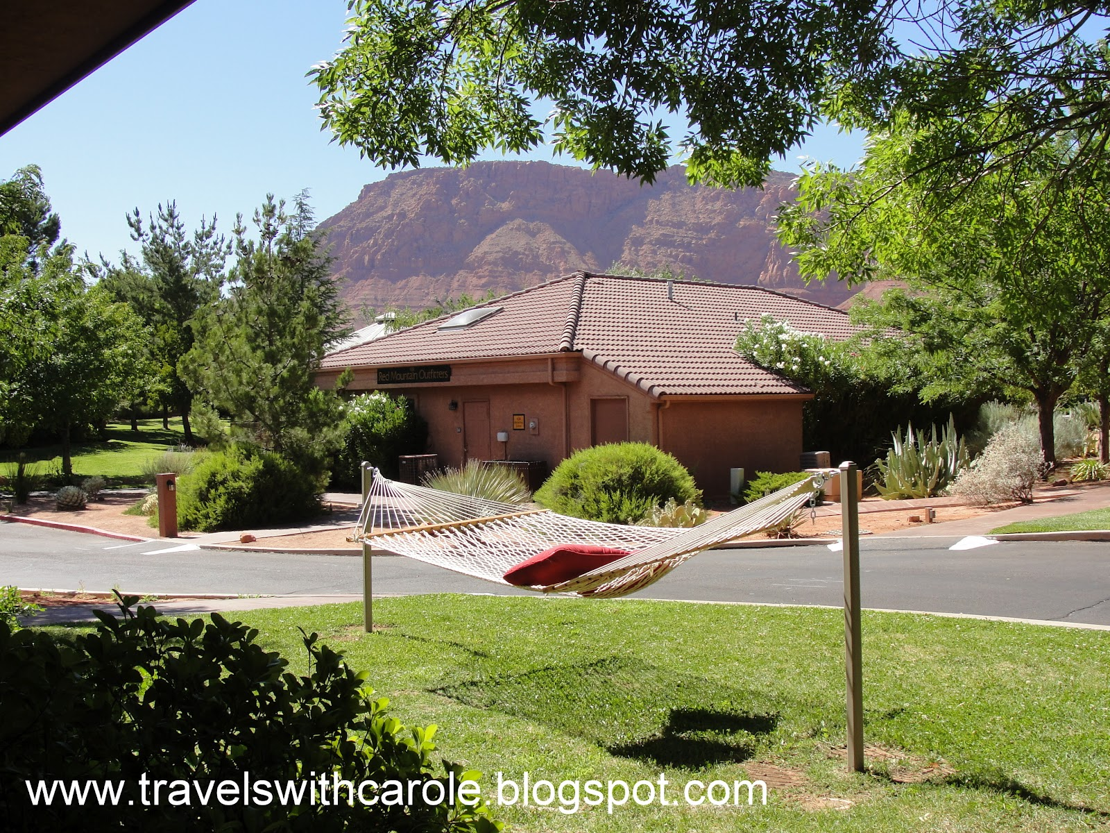 Call us for summer deals. Travels With Carole Ivins Utah Red Mountain Resort Hotel Review