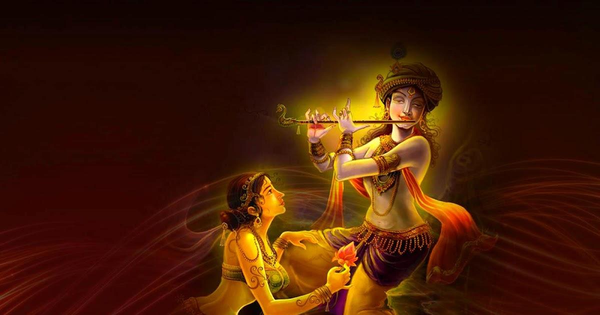 Krishna Hd Wallpapers Full Size: Hindu God Wallpapers: Radha : Krishna Wallpaper Full Size