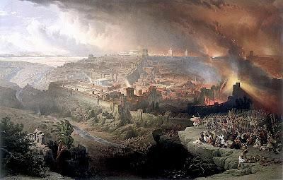 The destruction of the Second Temple