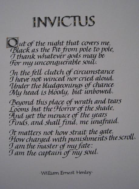 Invictus Poem Pdf