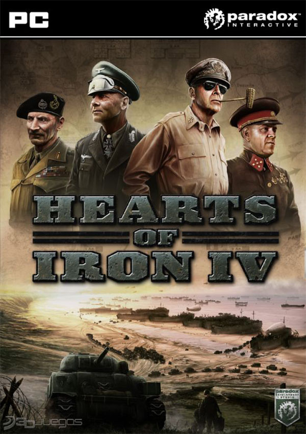 Hearts of Iron 4 Download Cover Free Game