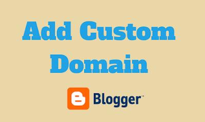 Add Custom Domain to Blogger EASILY