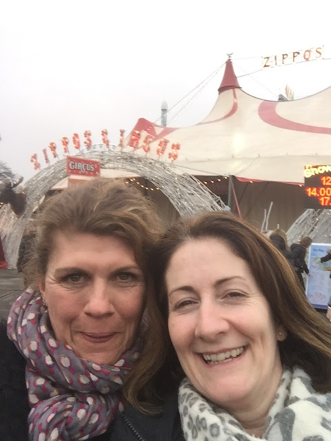 Two Stephs at Zippos Circus