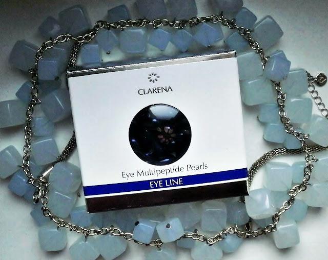 CLARENA - Multipeptydowe perły pod oczy