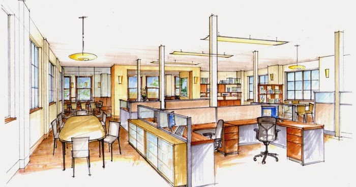 Tata Ruang Kantor Yang Baik Anugerah Dino