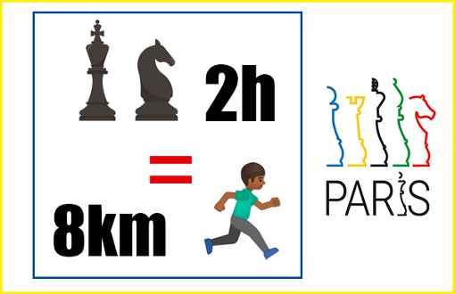 Le saviez-vous ? Dans une partie d'échecs en élite de 2h, on dépense autant d'énergie que lors de 8km de running