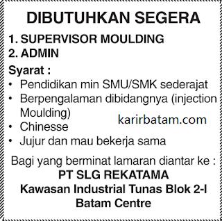 Lowongan Kerja PT. SLG Rekatama