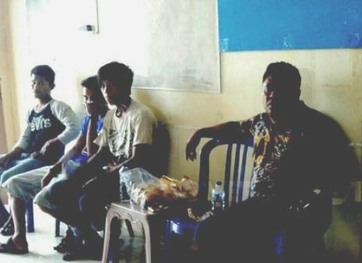 KM.Hasmawati ,Kayuadi ,Tenggelam, 5 Abk Diselamatkan, Kapal Nelayan ,Sinjai