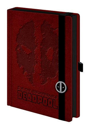 Marvel A5 Deadpool Premium Notebook
